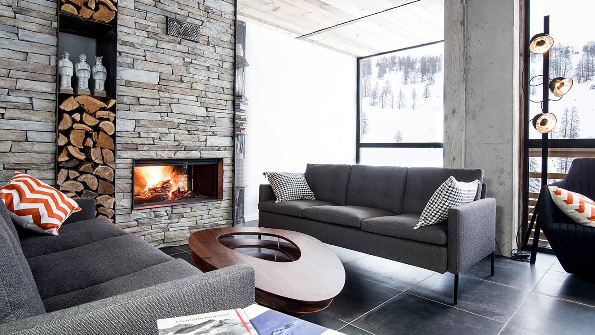 Emejing chalet design contemporain gallery for Interieur chalet contemporain